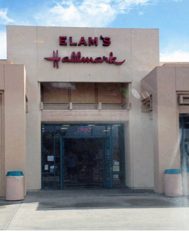 Elam's Hallmark Shop Sports Arena Square