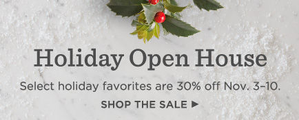 Visit Hallmark during Holiday Open House, November 3-10, and get 30% off select holiday must-haves.